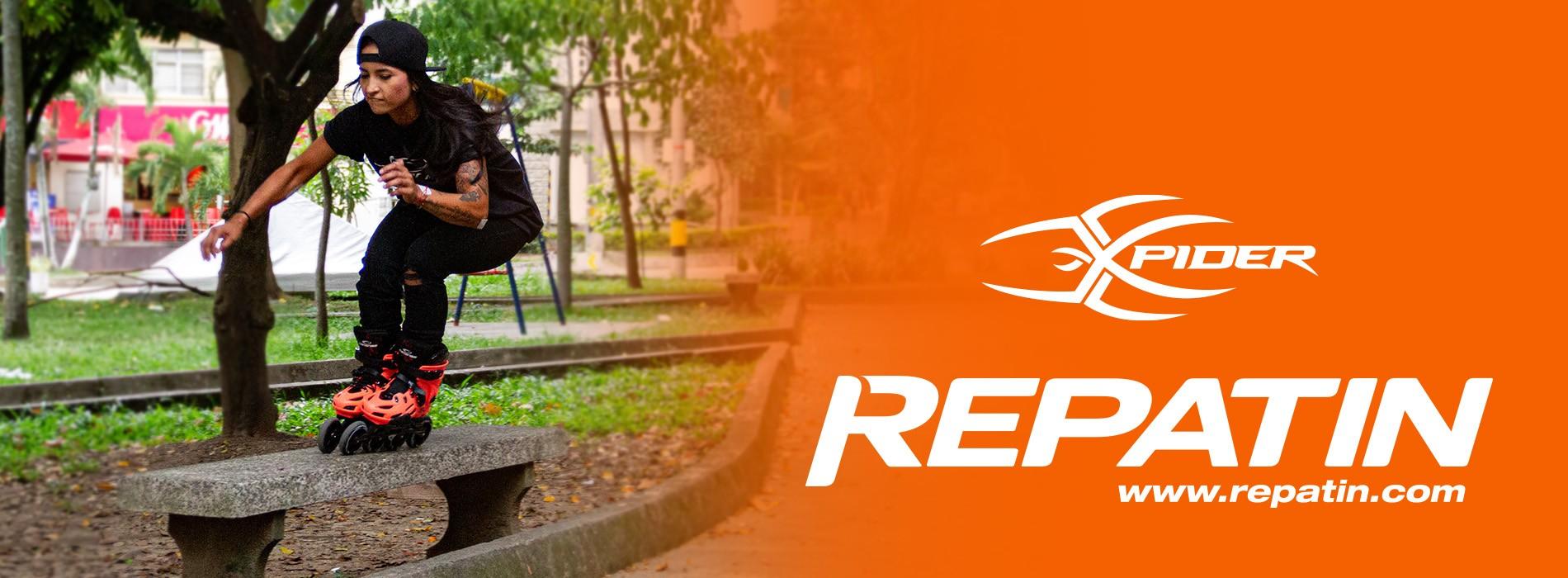 Patines urbanos naranja repatin colombia comprar calidad